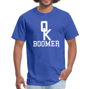 OK BOOMER Unisex Shirt - royal blue