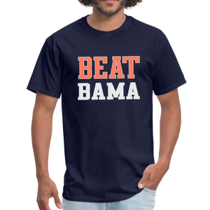 Beat Bama Unisex T-Shirt - navy
