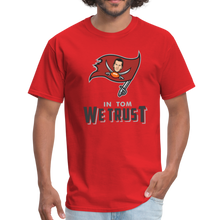 Load image into Gallery viewer, In Tom We Trust shirt - red