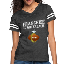 Load image into Gallery viewer, Franchise Quarterback customize jersey gift for engaged or married wife - vintage smoke/white