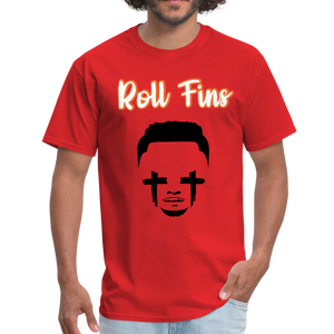 Roll Fins Unisex Classic T-Shirt - red