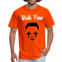 Load image into Gallery viewer, Roll Fins Unisex Classic T-Shirt - orange