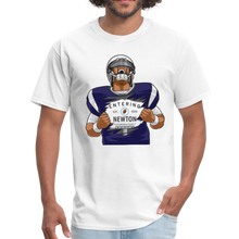 Load image into Gallery viewer, Cam Entering Newton Patriots Mass shirt - white