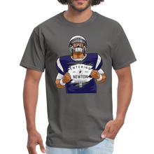 Load image into Gallery viewer, Cam Entering Newton Patriots Mass shirt - charcoal