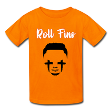 Load image into Gallery viewer, Roll Fins Kids Youth Shirt - orange