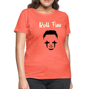 Roll Fins Women's T-Shirt - heather coral