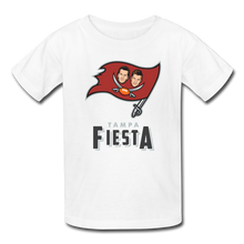 Load image into Gallery viewer, Tampa Fiesta Kids' T-Shirt - white