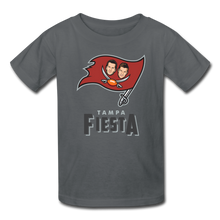 Load image into Gallery viewer, Tampa Fiesta Kids' T-Shirt - charcoal