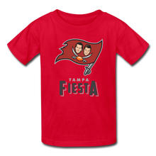 Load image into Gallery viewer, Tampa Fiesta Kids' T-Shirt - red