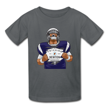 Load image into Gallery viewer, Cam Newton Entering Mass Patriots Kids' T-Shirt - charcoal