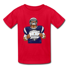 Load image into Gallery viewer, Cam Newton Entering Mass Patriots Kids' T-Shirt - red