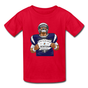 Cam Newton Entering Mass Patriots Kids' T-Shirt - red