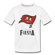 Load image into Gallery viewer, Tampa Fiesta Toddler Premium T-Shirt - white