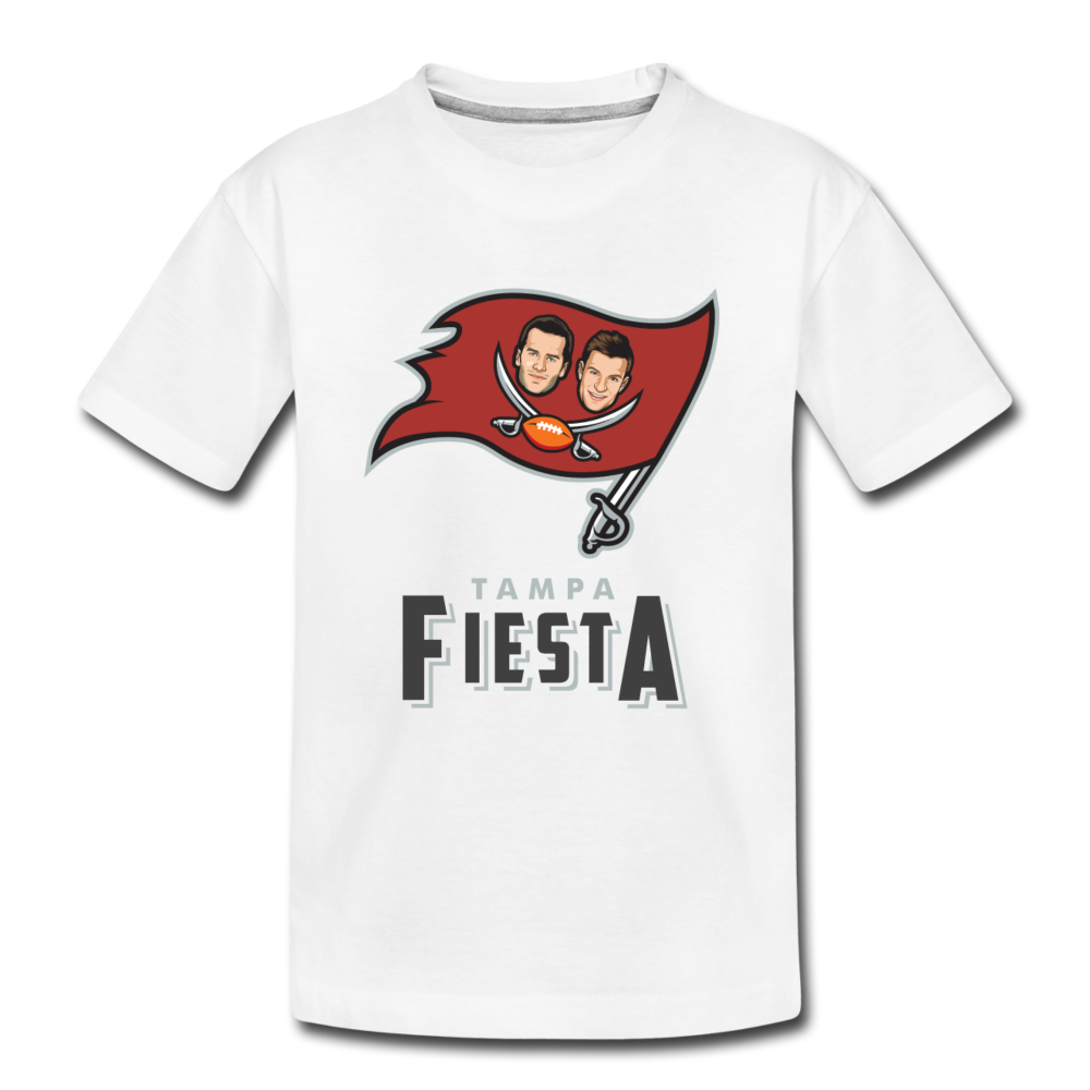 Tampa Fiesta Toddler Premium T-Shirt - white