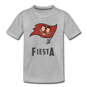 Tampa Fiesta Toddler Premium T-Shirt - heather gray