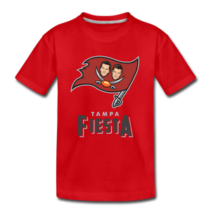 Tampa Fiesta Toddler Premium T-Shirt - red