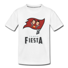 Load image into Gallery viewer, Tampa Fiesta Kids' Premium T-Shirt - white