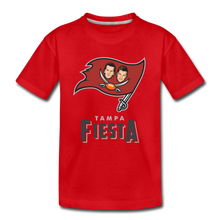 Load image into Gallery viewer, Tampa Fiesta Kids' Premium T-Shirt - red