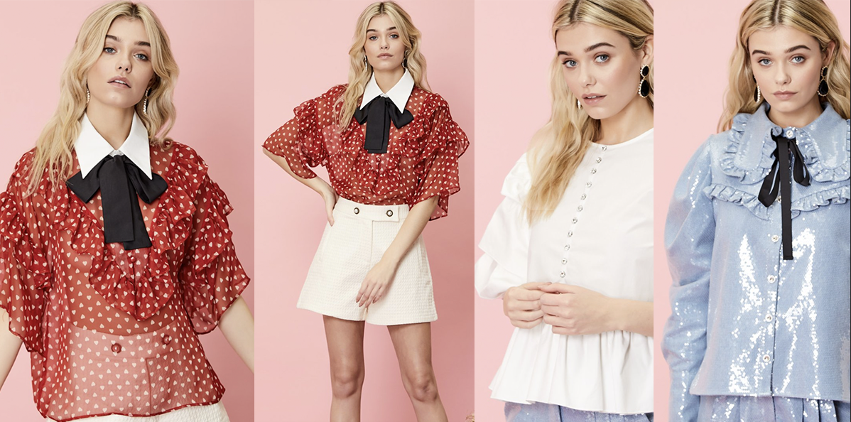 Sister Jane womens blouses, tops and shorts.