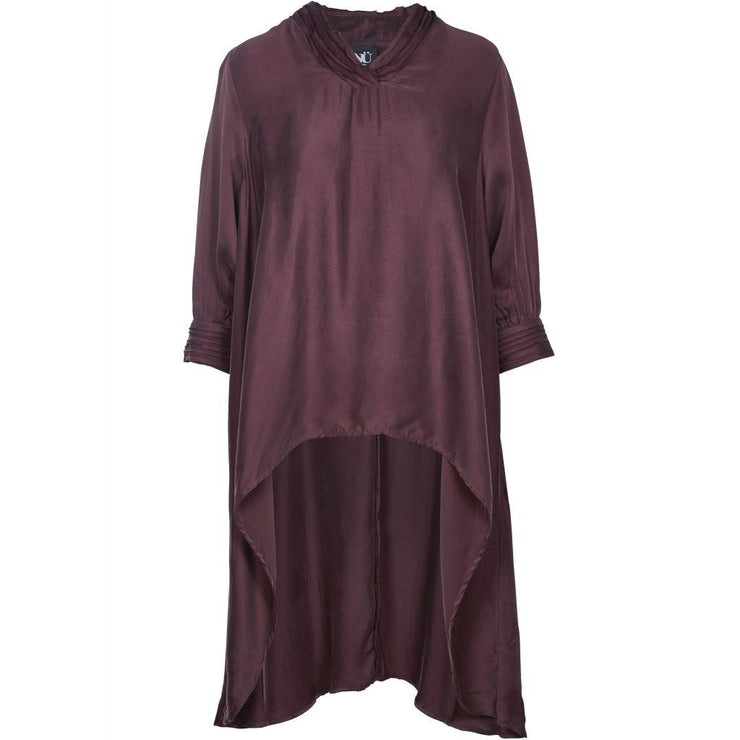 NU Denmark Amra Long Tunic in Fig