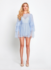 Alice McCall Mi Amor Playsuit in Pebble