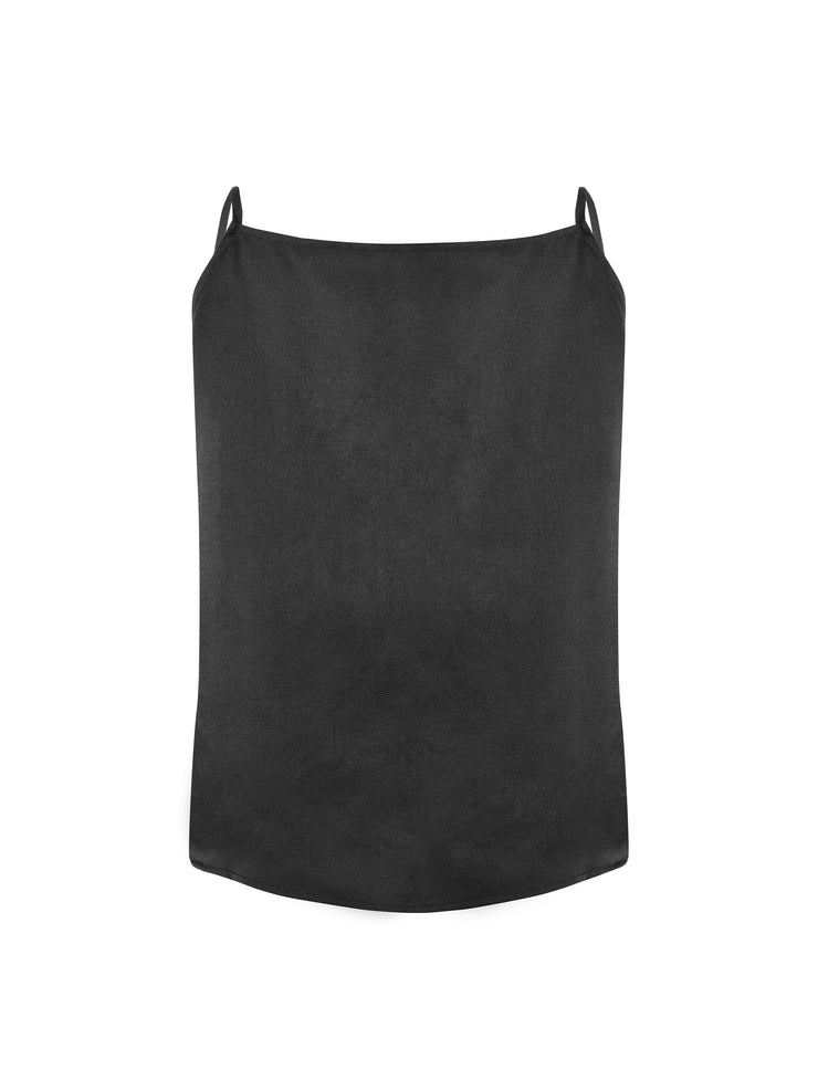 NU Denmark BRAE Cami top with mesh - Black