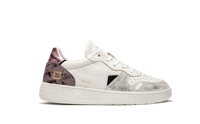D.A.T.E. Court Sneakers Pop Python