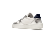 DATE Court Sneakers POP Laminated Silver