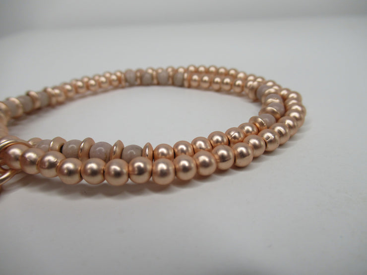 Envy Jewellery Rose Gold Pendant Bracelet