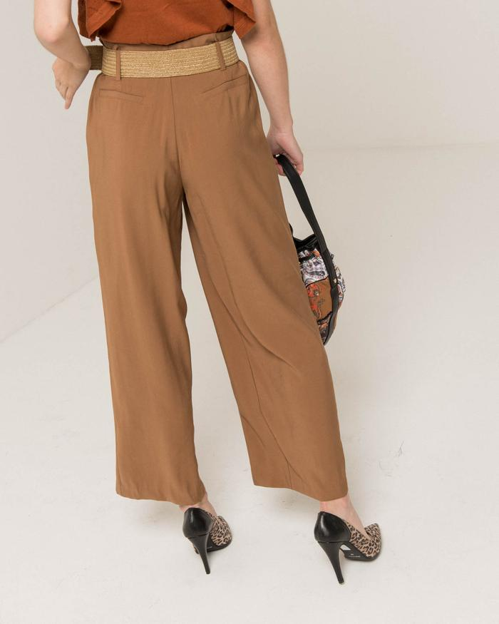 Silvian Heach Massango Belted Trousers