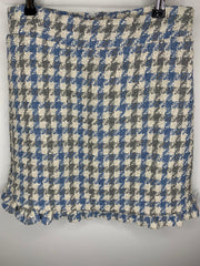 Sister Jane DREAM Weave Away Tweed Checked Mini Skirt