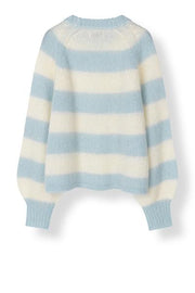 Stella Nova Laki Sweater in Creme/Blue