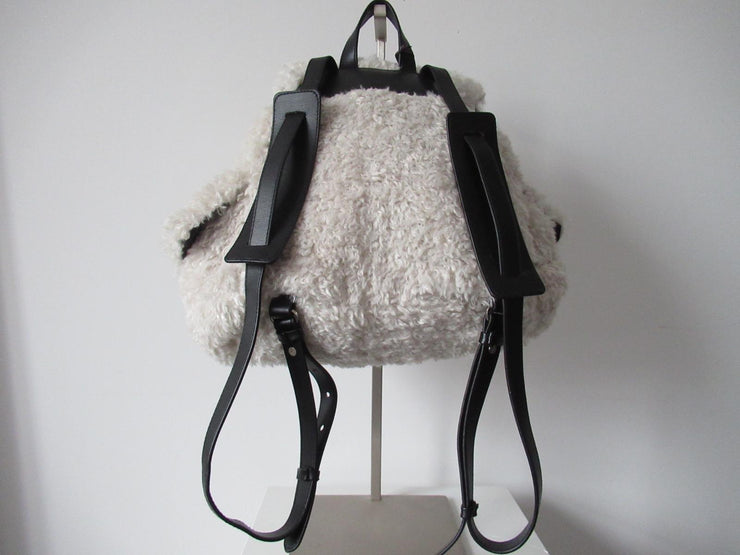 Urbancode Faux Shearling Kaelyn Backpack