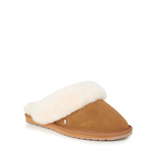 EMU Jolie Slippers Chestnut Sheepskin