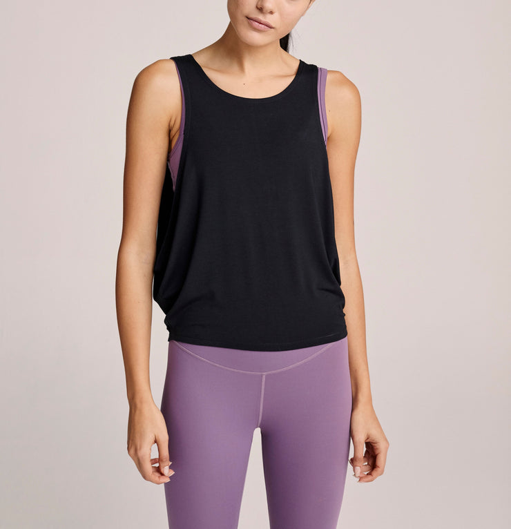 Varley Buckley Tank Solid Black