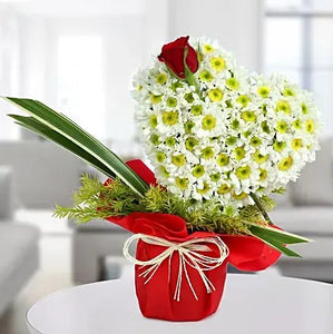 Floral Heart - Online Flowers Delivery In Mumbai