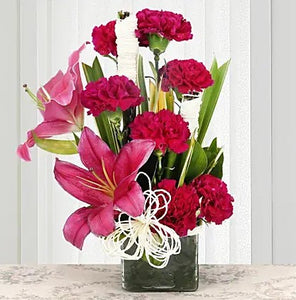 Hot Pink Beauty - Send Flowers Online