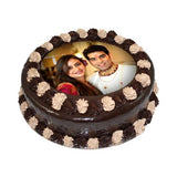 Chocolate Photo Cake
