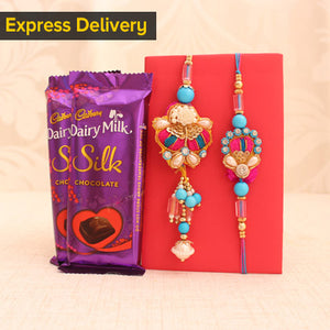 Sweet Rakhi for Bhaiya Bhabhi