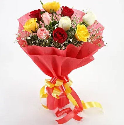 Colorful Bunch - Send Flowers Online