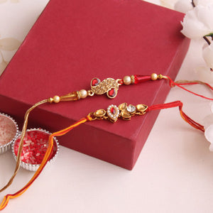 Eye Catching Stone Rakhi
