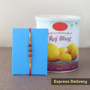 Rakhi With Raj Bhog