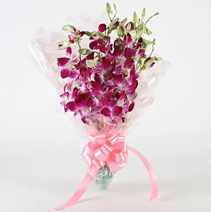 Royal Orchids Bunch - Online Flowers Delivery In Delhi