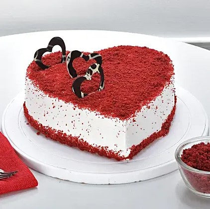 Heart Shape Red Velvet