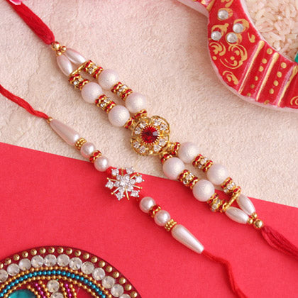 Blingy Pair of Rakhis