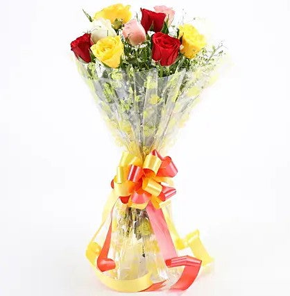 Magical Roses Bouquet - Send Flowers Online