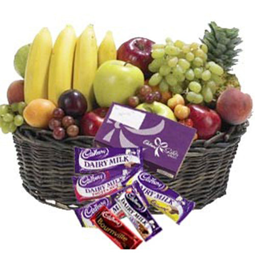 Fruits With Cadbury