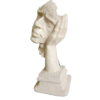 Abstract The Thinker Statue Face and Hand Statue for Home Decor