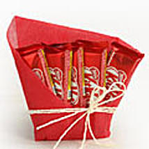 5 Kitkat Chocolates 12gms with gift wraping