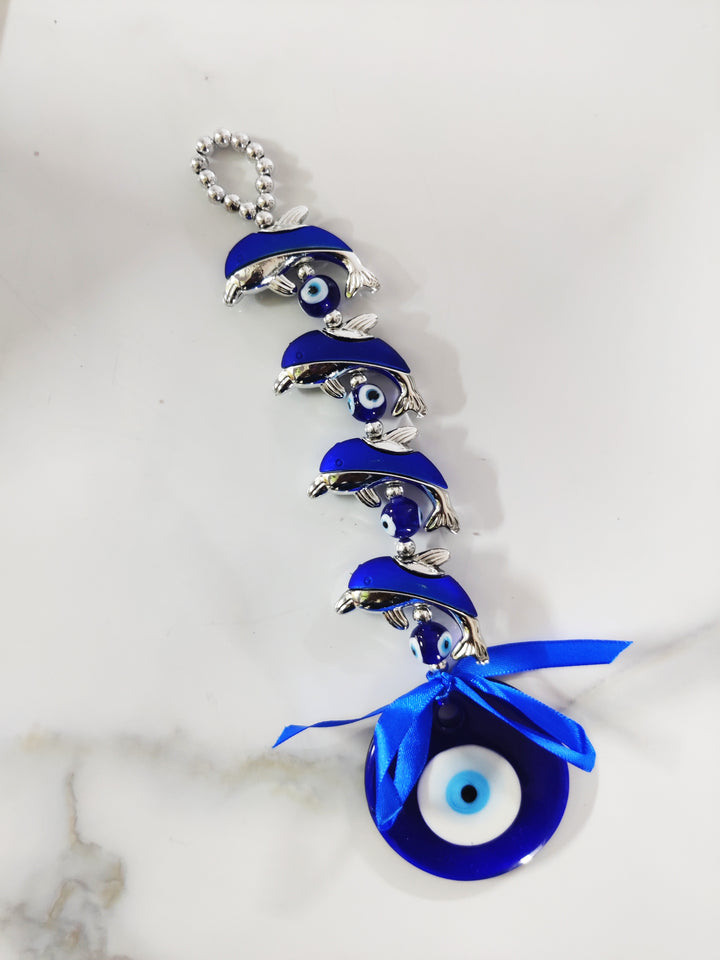 Fish Evil Eye Wall Amulet